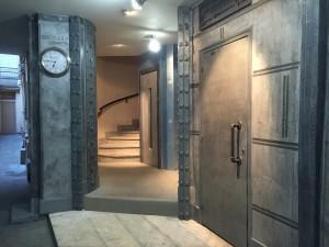 Hall-après-travaux style industriel