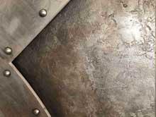 entree métal zinc
