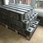 meuble industriel à palettes et aussi décoration de style industriel