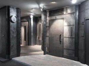 décoration hall d'entrée d'immeuble ancien parisien