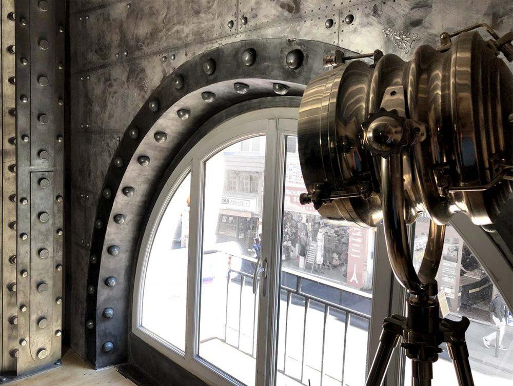 Créations B.Gauthiez murs style industriel / Eiffel 3D / UrbanWalls