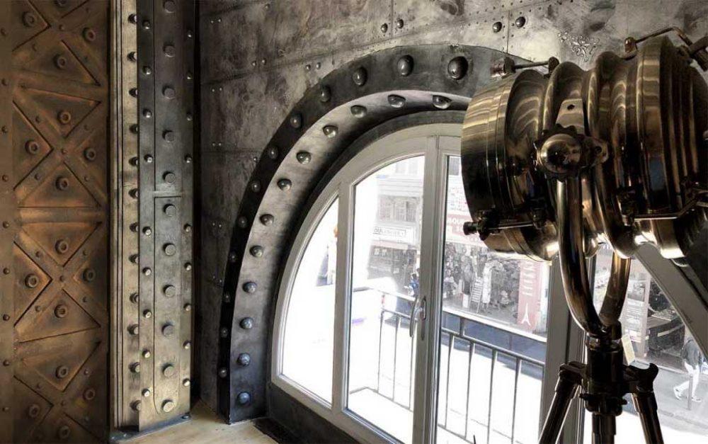 Créations B.Gauthiez murs métal style industriel chic / Eiffel 3D / Steampunk / UrbanWalls